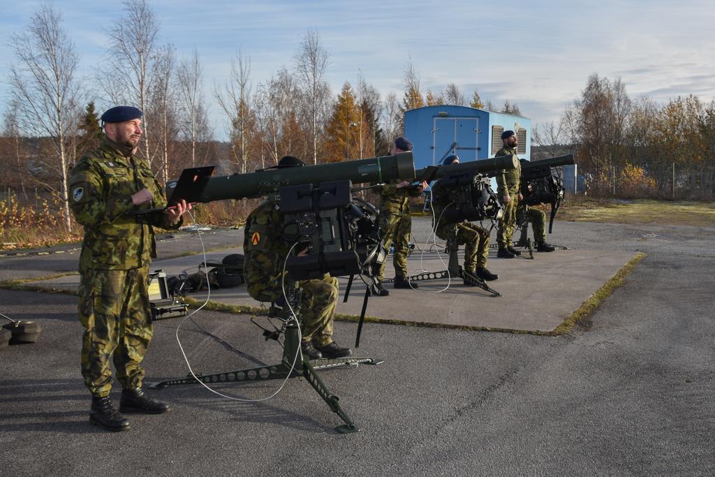 Cvičení s protivzdušným systémem RBS-70NG